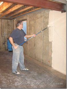 Parents of a Dozen: Painting an Unfinished Basement