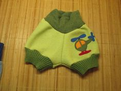 Wool shorties, also good for using as cloth diapers wool cover.