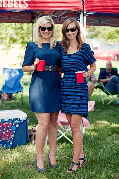 You wouldn't dare consider wearing a t-shirt to a football game. | 21 Reasons You Know You Go To Ole Miss