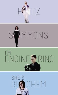 Fitz and Simmons   Agents of S.H.I.E.L.D.