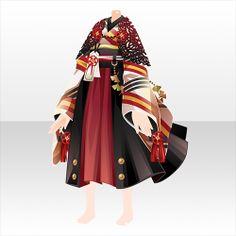 Kimono Fashion, Girl Fashion, Fashion Outfits, Fashion Design, Ninja Outfit, Chibi Hair, Cute Short Dresses, Clothing Sketches, Maid Outfit