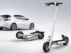 JAC< Foldable Electric Powered Scooter by Springtime » Yanko Design