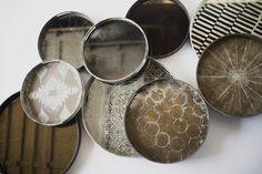 Art or just trays? - Tray composition by Notremonde  #art #tray #oriental #creative #brown #grey #Notremonde #cozy
