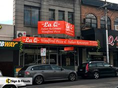 Branding for La Q Restaurant in Kew, Melbourne - Sign And Fitouts Vinyl Signs, Business Signs, Melbourne, Branding, Restaurant, Design, Brand Management, Diner Restaurant