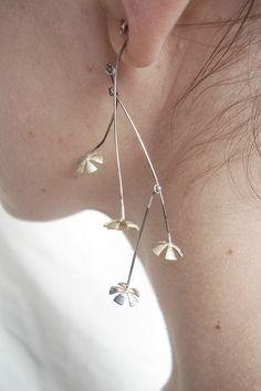 Earrings by Patricia Gallucci, via Flickr