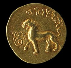 The Bactrian Hoard Is Back | Archaeology | DISCOVER Magazine. An Indian coin depicting a lion attests to the trade along the Silk Road, 1st century, gold.