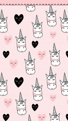 ❄WALLPAPERS❄ — xo-nikkix: I found these super cute Unicorn...