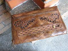 Антик - паста для кожи 100гр тёмно - коричневая SHEIWA Leather Craft, фото 4