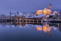 Solothurn - Winter in the Baroque town, Switzerland Quality Time, Switzerland, Taj Mahal, Vacation, City, Building, Places, Baroque, Travelling