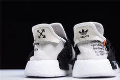 Virgil Abloh s OFF-WHITE x Pharrell x adidas NMD Hu Race Trail Black White  BB7725 30d4ab93d