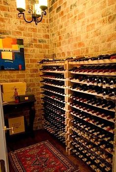 simple do-able wine cellar