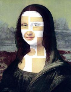 La Gioconda o Mona Lisa en versión de Richard Rownak