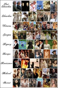 Enchanted Serenity of Period Films: INDEX to Period Dramas, Costumes & More!
