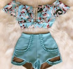 The current fashion combos. The style that women like most. What's your style? Summer Fashion Outfits, Cute Summer Outfits, Classy Outfits, Short Outfits, Outfits For Teens, Love Fashion, Girl Outfits, Casual Outfits, Cute Outfits