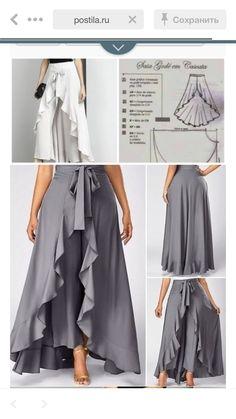 Etek pantolon etekpantolonlar skirtpants kalibidir sevgili dostum @dikiskalipatolyesi ne bu kalıp için teşekkür ederim onun… – Artofit - craftIdea.org