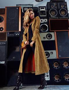 Valentina Zelyaeva by Xavi Gordo for Elle Spain September 2015 - Dior