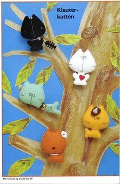 Котята - маленькие мягкие игрушки своими руками, выкройки