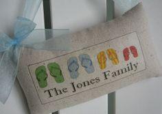 Established Date Family Sign Door Pillow Sign by AbundantHaven, $17.95