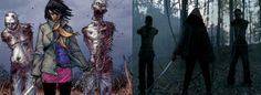 The Walking Dead - Comic to TV - I can't wait to see what they do with  Michonne on the show.