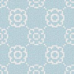 Flourish Breeze Motif 24 in. x 24 in. Glass Wall and Light Residential Floor Mosaic Tile-041-0101 at The Home Depot $39 per square foot