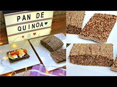 Pan saludable de quinoa y chía - YouTube - Balanceando La Vida