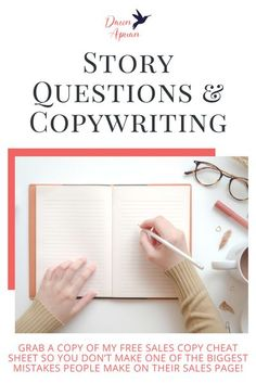 Copywriting techniques don't have to be fancy or complicated. In fact, what you learned in school will work just fine to make sure your copy is great. Let's go through the who, what, where, when and why of copywriting! Repin & grab a copy of my FREE Sales Copy Cheat Sheet so you don't make one of the biggest mistakes people make on their sales page. #dawnapuan #copywriting #salescopy
