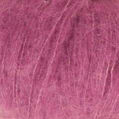 En luksuriøs blanding af alpaca og mulberry-silke.