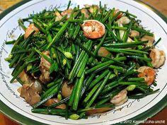Stir-fried Garlic Chives - click for larger image
