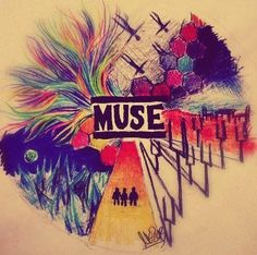 (credits to artist) Ha this is pre-drones era Muse Lyrics, Muse Songs, Muse Music, System Of A Down, Radiohead, Muse Quotes, Rock N Roll, Muse Band, Rock Y Metal