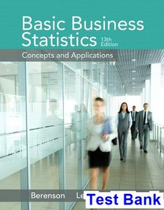 Pdf elementary statistics picturing the world 6th edition basic business statistics 13th edition berenson test bank test bank solutions manual exam fandeluxe Gallery