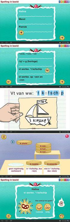 Spelling in beeld: app om te oefenen