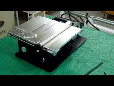 Byrnes 4 Inch Table Saw - Review & Demo - YouTube