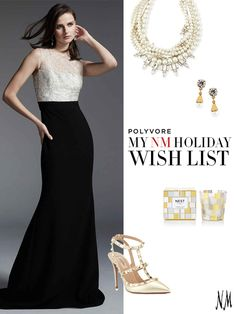 """'Tis the season! Show us your holiday wish list full of our Love to Give collection on Polyvore for a chance to win an NM gift card! Simply follow the link, click """"Create Set,"""" drag and drop items into your set, and select """"Enter contest!"""""""