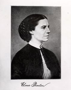 """Clara Barton """"The Angel of the Battlefield"""", Founder of the American Red Cross"""
