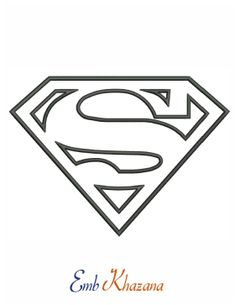 While most of the stencils on this site can be used as a pumpkin carving pattern, the Pumpkin Carving Stencils Page includes those that are especially suited for use as a Halloween pumpkin template. Superman Logo, Chibi Superman, Superman Coloring Pages, Coloring Pages For Kids, Coloring Books, Machine Embroidery Designs, Embroidery Patterns, Free Stencils, Henna Stencils