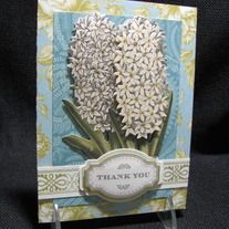 SOLD - INSIDE GREETING: This isn't a thank you note, it's a hug with a fold in it.