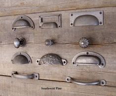 WEST COUNTRY PINE on eBay: Cast Iron Cup Handle Kitchen Cupboard Door Handle Knob Antique Iron Finish