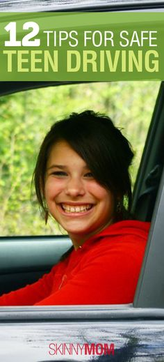 GREAT read for moms of teen drivers!! 12 Tips for Safe Teen Driving!