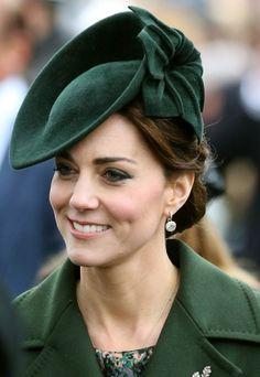 25 December 2015 - Green Sylvia Fletcher for Lock & Co Hat