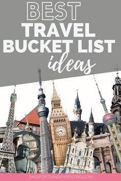 Best travel bucket list ideas. These unique travel bucket list destinations will give you a great head start on planning your travels in 2021 and beyond. New Travel, Ultimate Travel, Family Travel, Bucket List Destinations, Travel Destinations, Best Hotels In Amsterdam, Air Balloon Rides, European Destination, Head Start