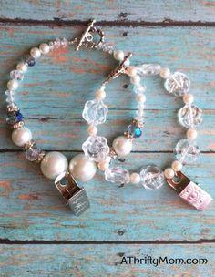 temple bracelet, lds, lds crafts, temple, super saturday craft ideas, bracelet, jewelry, diy jewelry, tutorial, jewelry tutorial