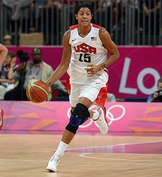 Candace Parker- one of the greatest on the women's side.