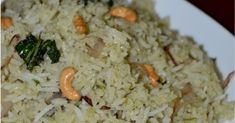 Prefect Ghee rice / Ney choru as it is commonly called is a famous delicacy of south india and it is extremly easy to make. Puri Recipes, Rice Recipes, New Recipes, Vegetarian Recipes, Snack Recipes, Dinner Recipes, Cooking Recipes, Ghee Rice Recipe, Egg Recipes Indian
