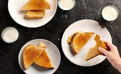 Grilled Cheese / Photo by Chelsea Kyle, Food Styling by Anna Stockwell.