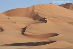 Il favoloso deserto dell'Oman
