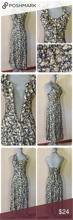 Selling this Vintage floral dress🌿 on Poshmark! My username is: egrey. #shopmycloset #poshmark #fashion #shopping #style #forsale #Vintage #Dresses & Skirts
