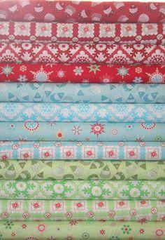 Japanese Christmas fabric