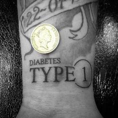 """Super small lettering sleeve work not mine #tears #tearsink #tattoo #tats #emillion #kwadron #eternal #diabetestattoo #linework #letterhead #scriptking…"""