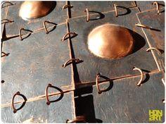 TWIN TURTLES | #dark patina on hammered #copperdecoration | detail | #artwork #art #wallart #sculptureart  #artforsale #availableart