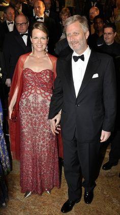Prince Philippe and Mathlde of Belgium